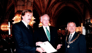 Innovationspreisverleihung 1997 Aachen - Prof. Norbert Pohlmann