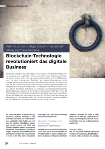 Blockchain-Technologien