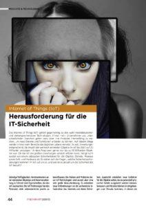 Internet of Things - Die Herausforderung für die IT-Sicherheit | Ein Artikel von Prof. Dr. Norbert Pohlmann