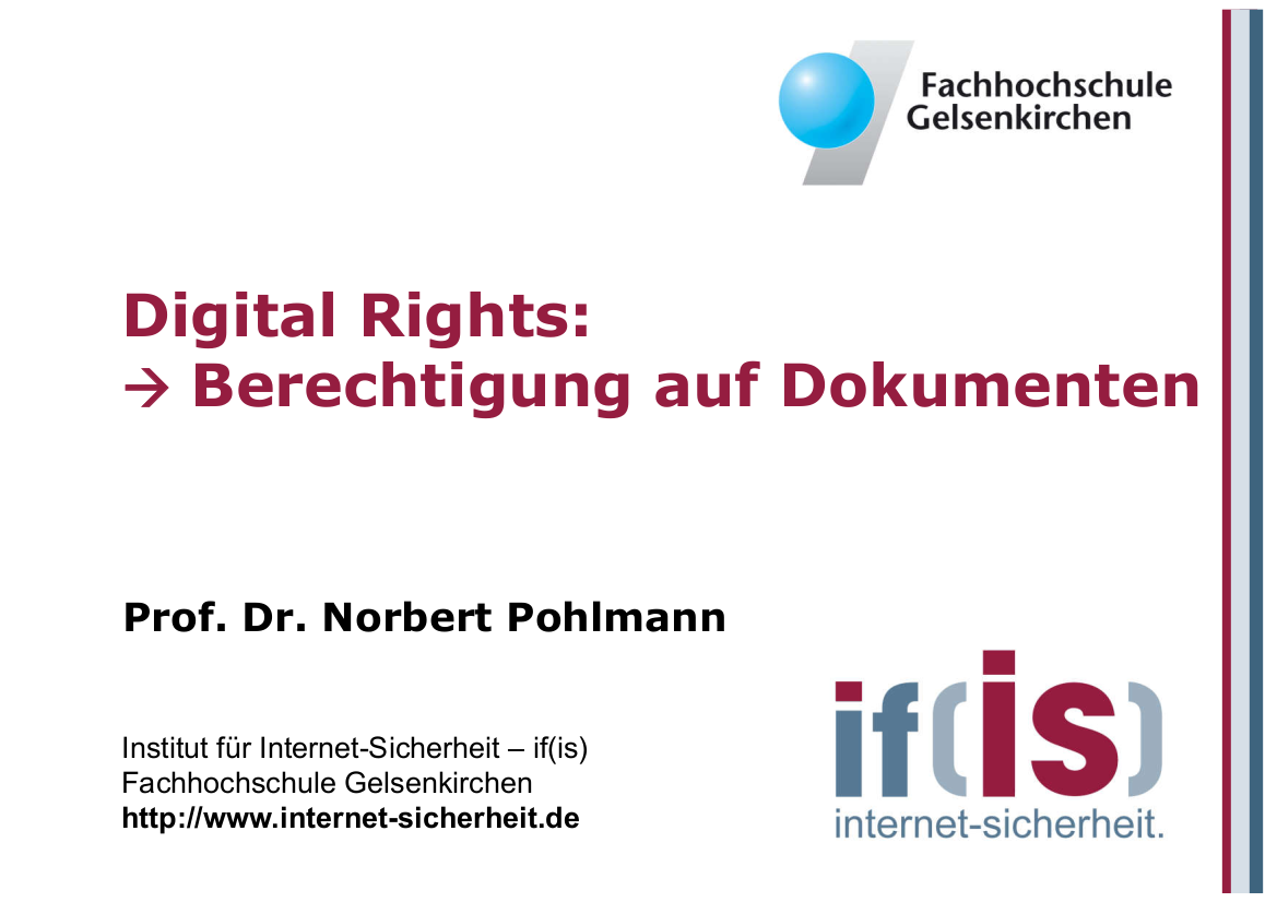196-Digital-Rights-Berechtigung-auf-Dokumenten-Prof.-Norbert-Pohlmann