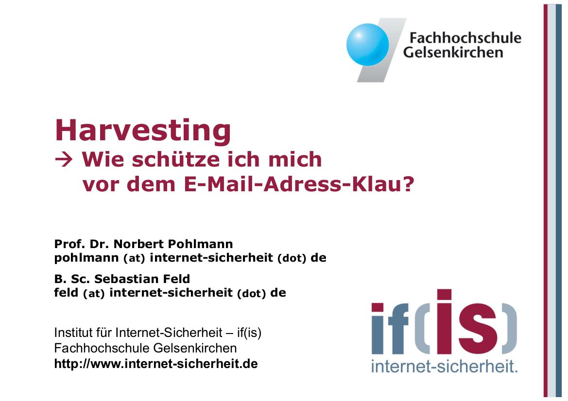 199-Harvesting-Wie-schütze-ich-mich-vor-dem-E-Mail-Adress-Klau-Prof.-Norbert-Pohlmann