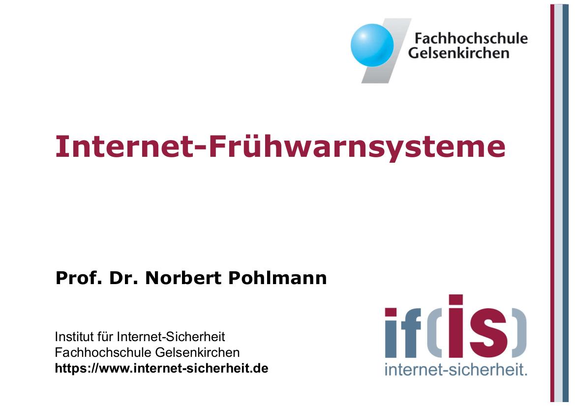 201-Internet-Frühwarnsysteme-Prof.-Norbert-Pohlmann