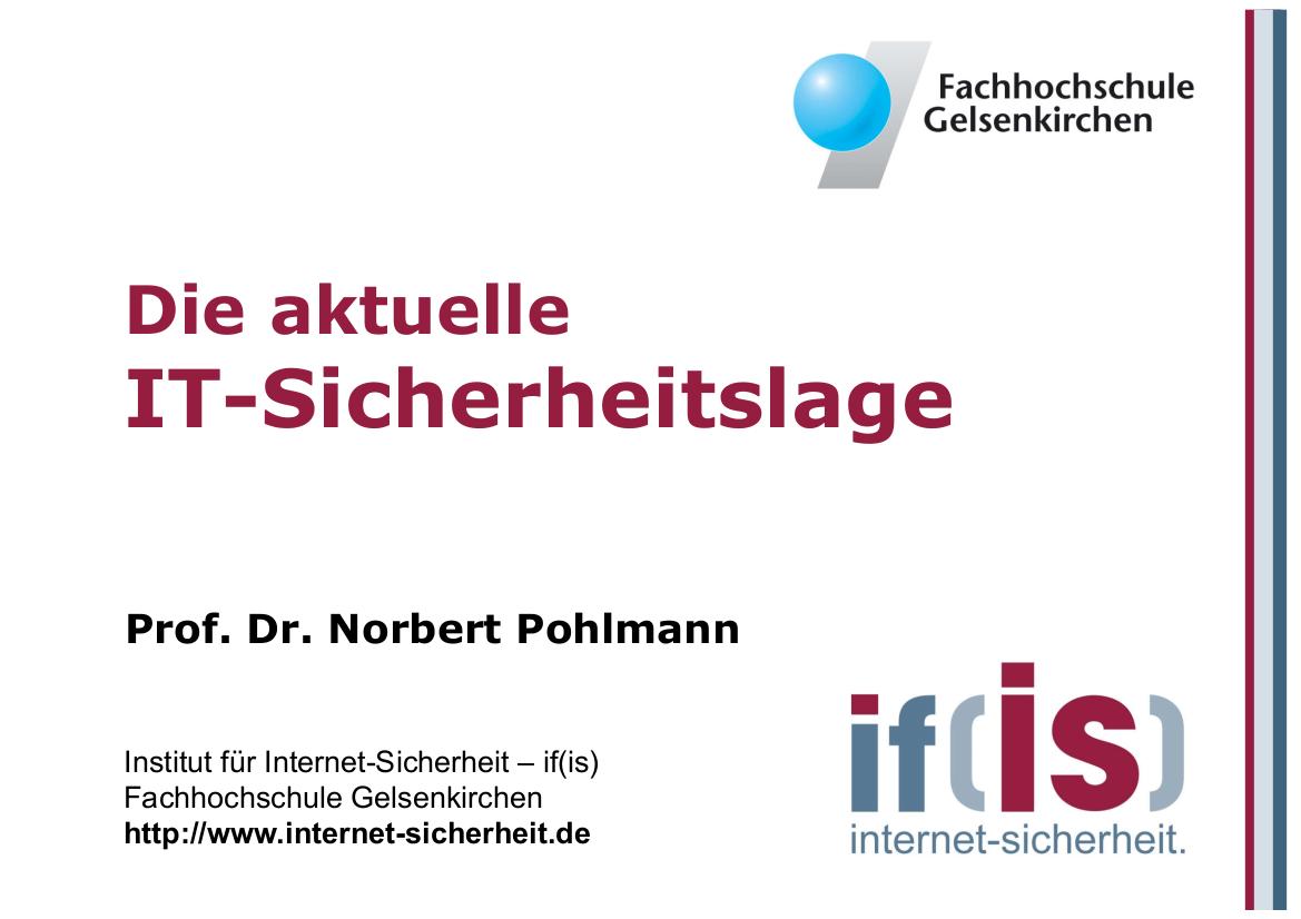 223-Die-aktuelle-IT-Sicherheitslage-Prof-Norbert-Pohlmann