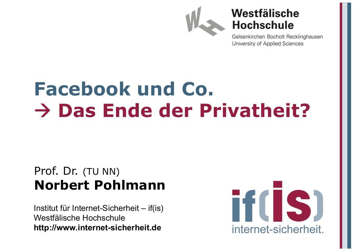 248-Facebook-und-Co-–-Das-Ende-der-Privathei-Prof.-Norbert-Pohlmann