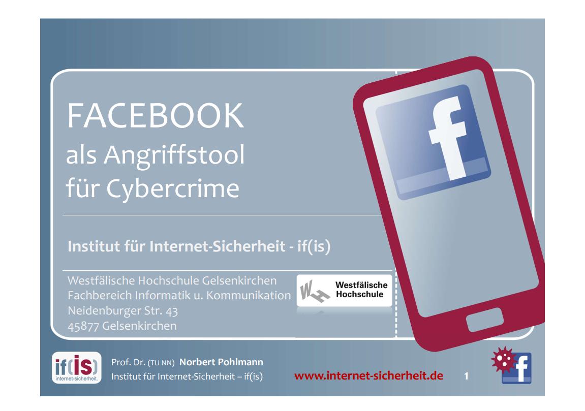 255-FACEBOOK-als-Angriffstool-für-Cybercrime-Prof-Norbert-Pohlmann