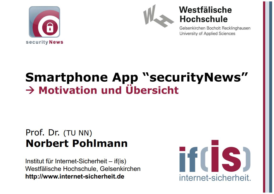 260-Smartphone-App-securityNews-Prof-Norbert-Pohlmann