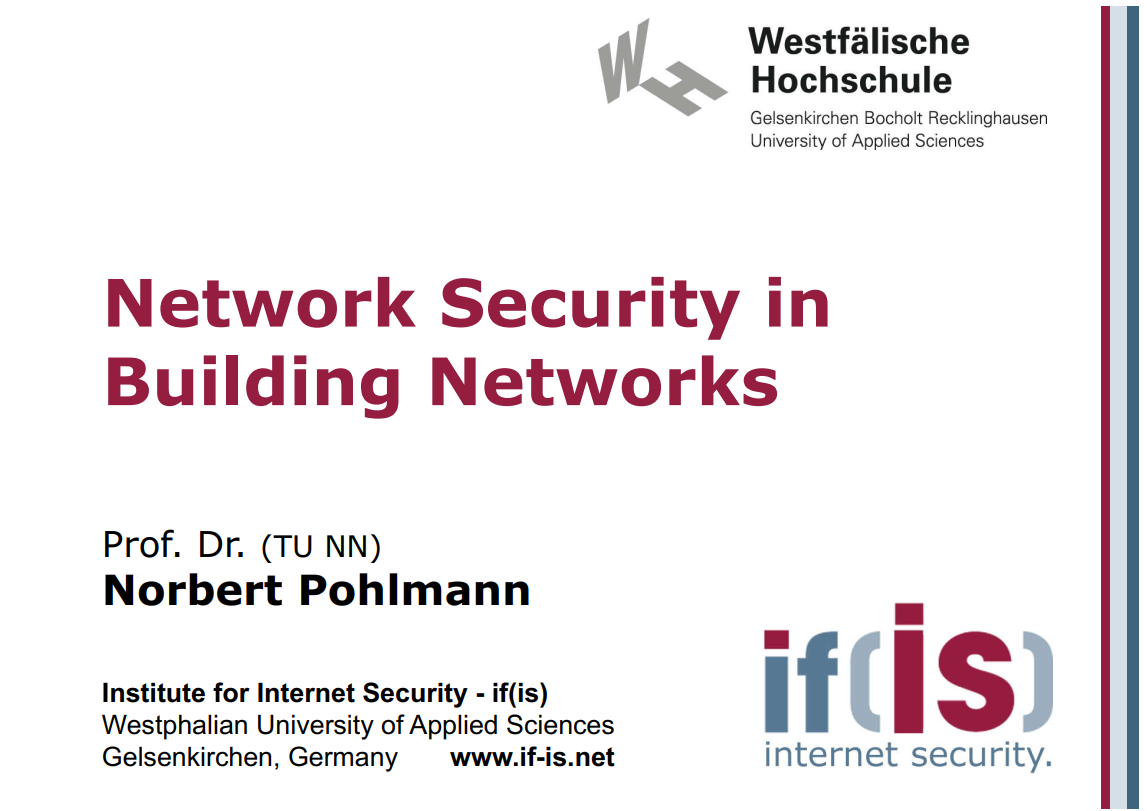 266-Network-Security-in-Building-Networks-Prof-Norbert-Pohlmann