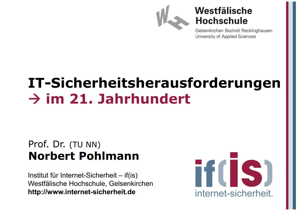 273-IT-Sicherheitsherausforderungen-im-21.-Jahrhundert-Prof-Norbert-Pohlmann