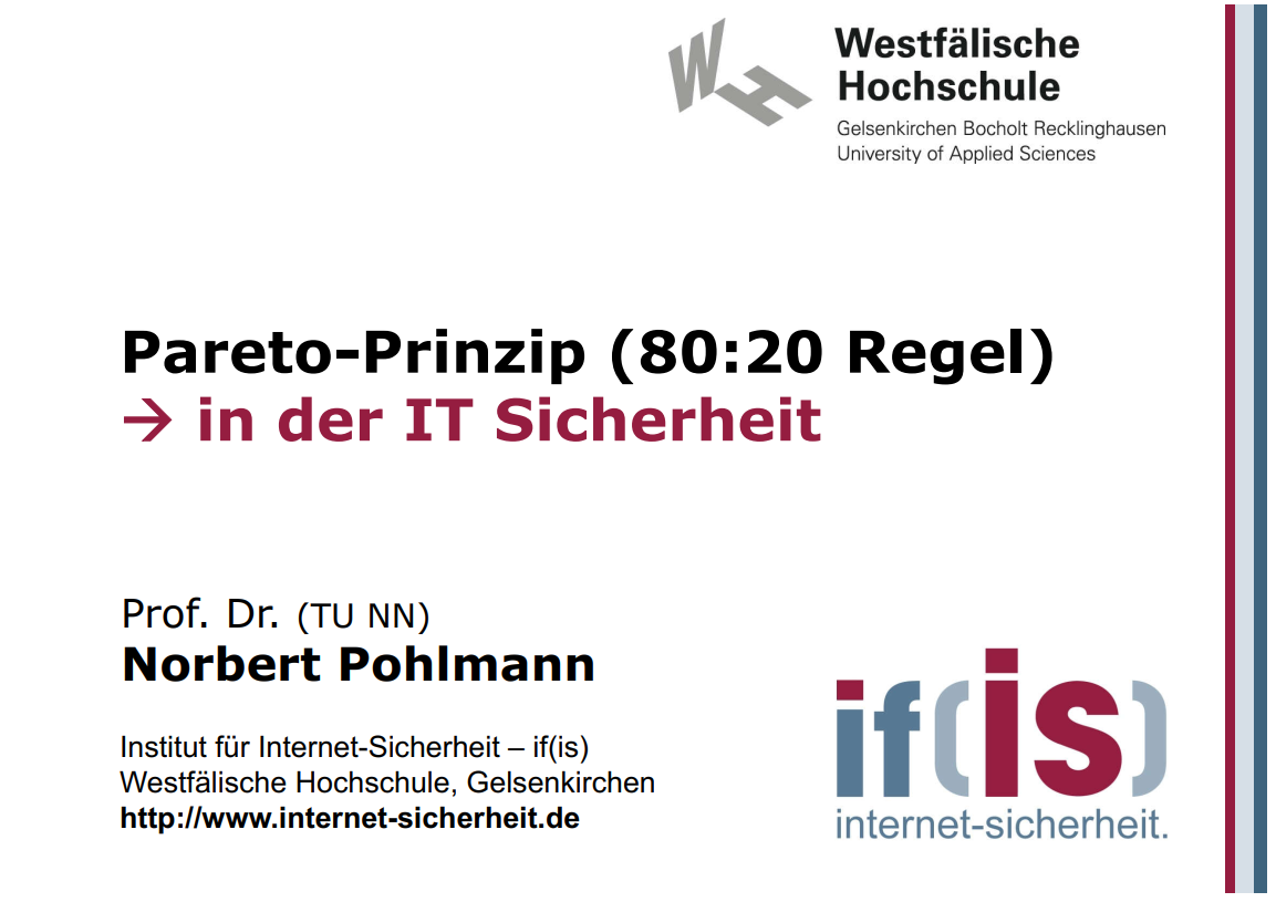 276-80-20-Regel-in-der-IT-Sicherheit-Prof-Norbert-Pohlmann