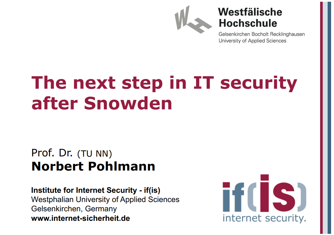 279-The-next-step-in-IT-security-after-Snowden-Prof-Norbert-Pohlmann