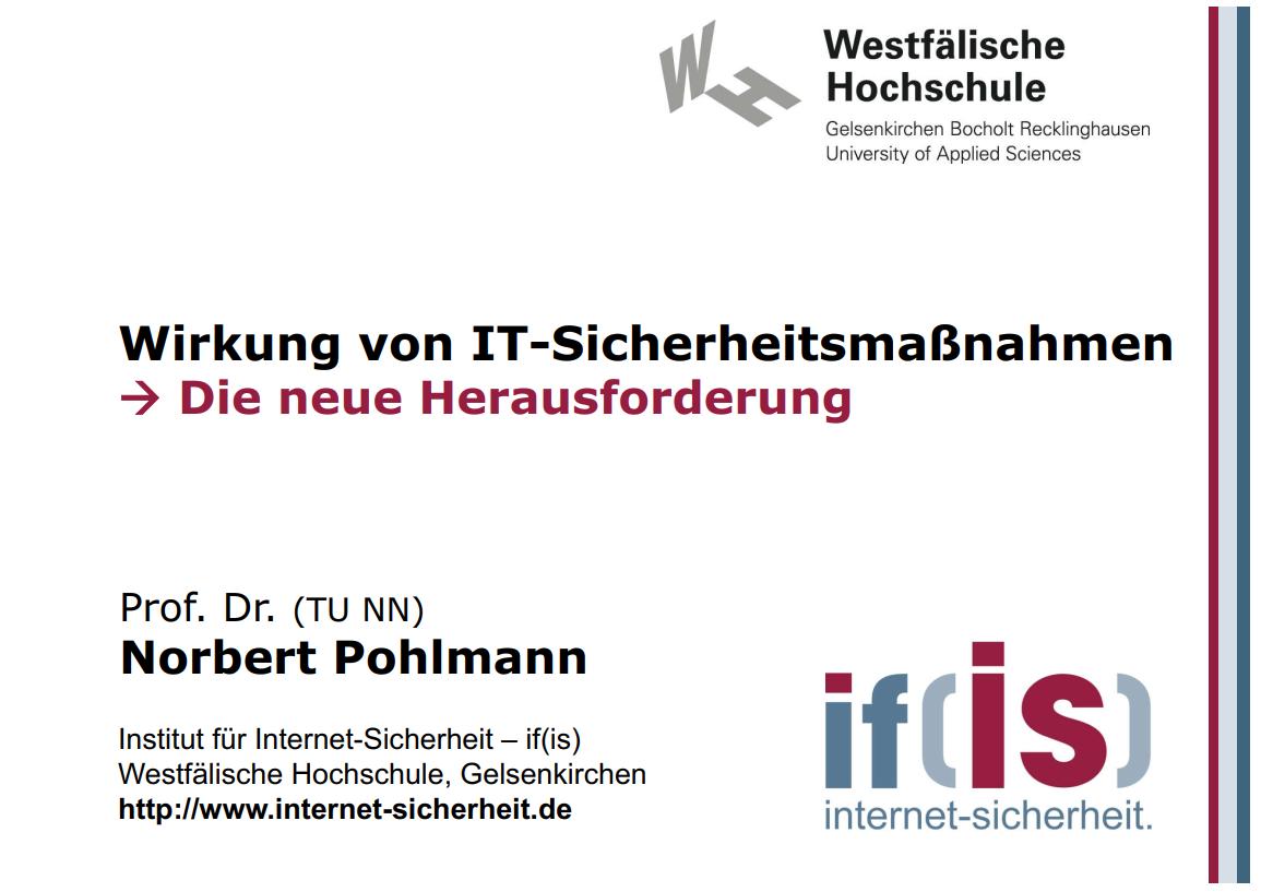 285-Wirkung-von-IT-Sicherheitsmaßnahmen-–-die-neue-Herausforderung-Prof-Norbert-Pohlmann