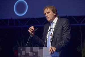 Prof. Norbert Pohlmann bei der Preisverleihung des eco-Awards 2015 (Internetwirtschaft)