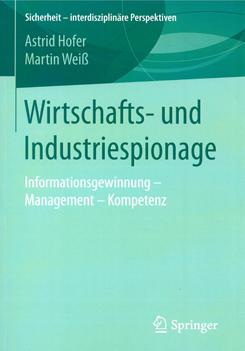 Buch Wirtschafts- und Industriespionage - Prof. Norbert Pohlmann