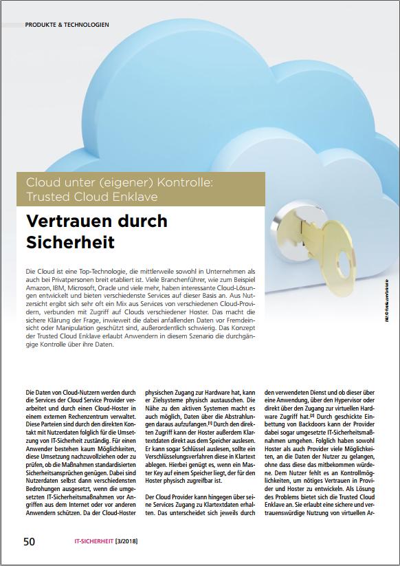 378-Cloud-unter-eigener-Kontrolle-Trusted-Cloud-Enklave-Vertrauen-durch-Sicherheit-Prof.-Norbert-Pohlmann