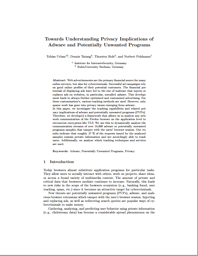 381-Towards-Understanding-Privacy-Implications-of-Adware-and-Potentially-Unwanted-Programs-Prof.-Norbert-Pohlmann