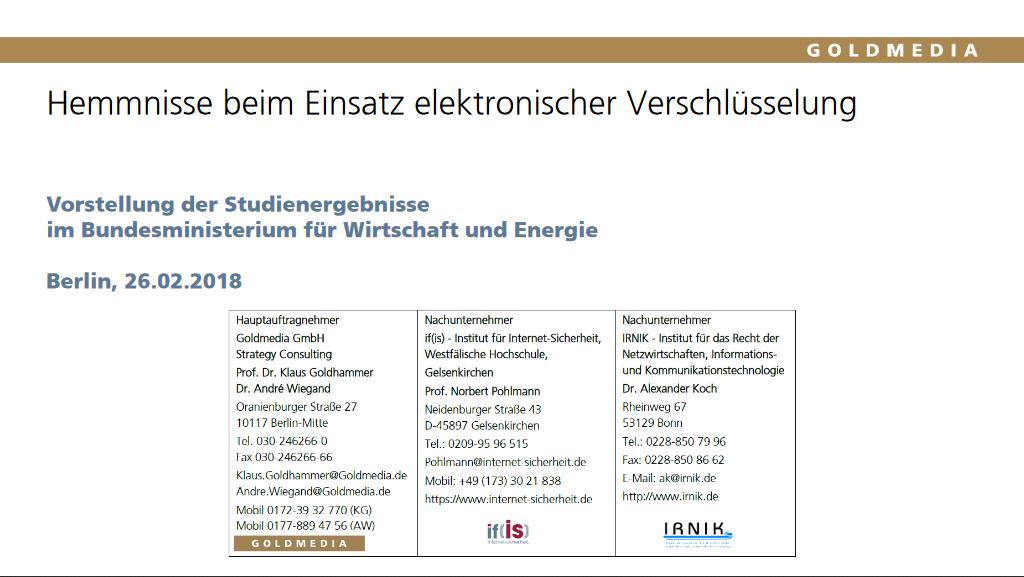 6.3-180222-Hemmnisse-beim-Einsatz-von-Verschlüsselung-Studienpräsentation-26.02.2018-Handouts_Prof._Norbert_Pohlmann