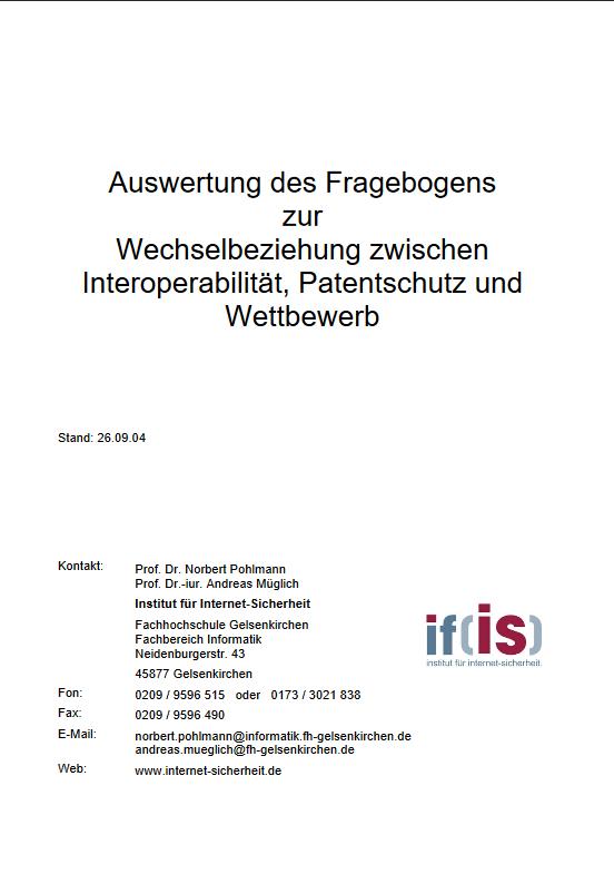 Auswertung-des-Fragebogens-zur-Wechselbeziehung-zwischen-Interoperabilität-Patentschutz-und-Wettbewerb-2004-Prof.-Norbert-Pohlmann