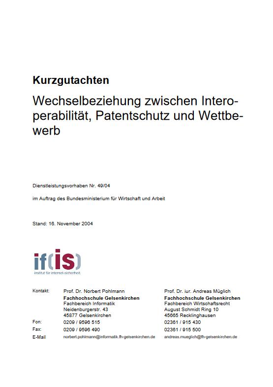 Kurzgutachten-Wechselbeziehung-zwischen-Interoperabilität-Patentschutz-und-Wettbewerb-Prof.-Norbert-Pohlmann