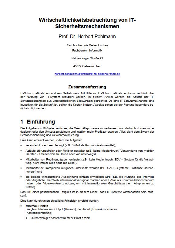 155-Wirtschaftlichkeitsbetrachtung-von-IT-Sicherheitsmechanismen-Prof.-Norbert-Pohlmann