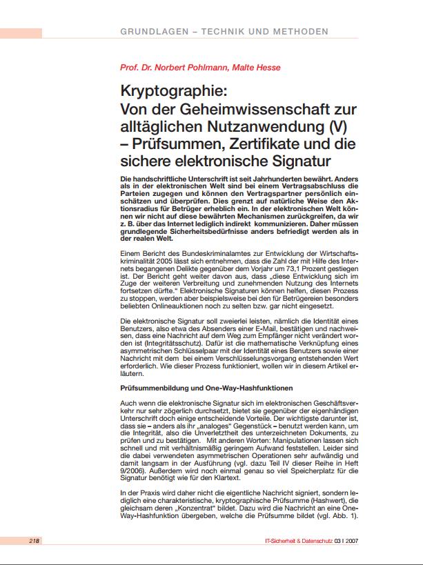 192-Kryptographie-Von-der-Geheimwissenschaft-zur-alltäglichen-Nutzanwendung-V-–-Prüfsummen-Zertifikate-und-die-elektronische-Signatur-Prof.-Norbert-Pohlmann