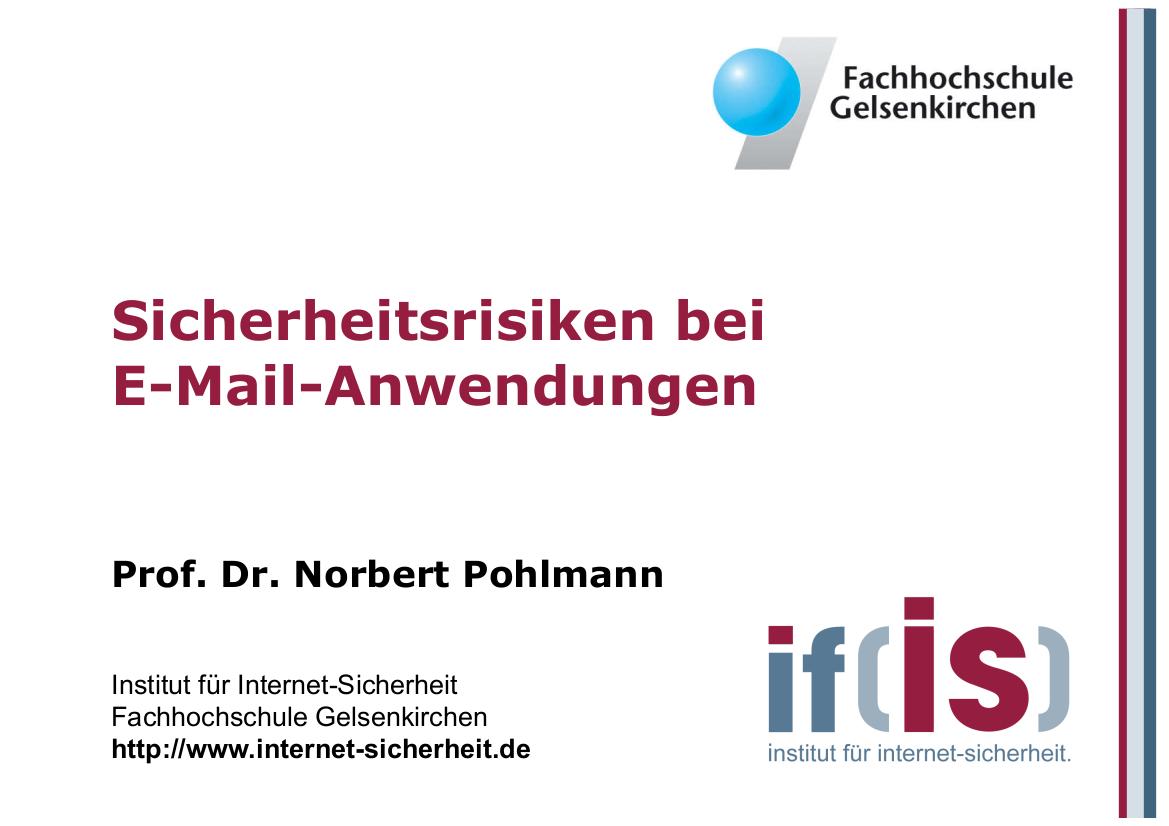 163-Sicherheitsrisiken-bei-E-Mail-Anwendungen-Prof.-Dr.-Norbert-Pohlmann