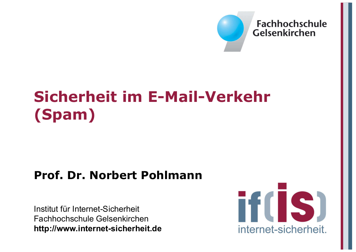 173-Sicherheit-im-E-Mail-Verkehr-Spam-Prof.-Pohlmann