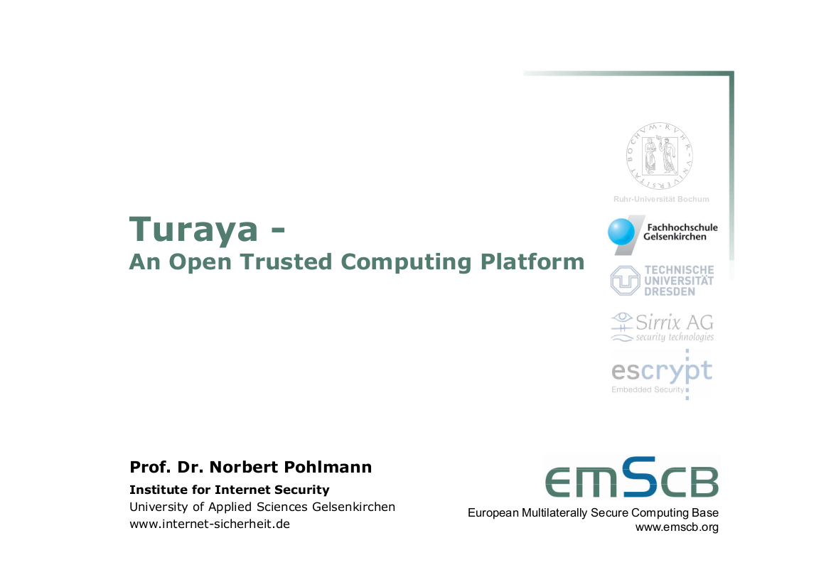 181-Turaya-–-An-Open-Trusted-Computing-Platform-Prof.-Pohlmann