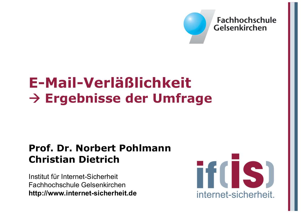 182-E-Mail-Verläßlichkeit-Ergebnisse-der-Umfrage-Prof.-Pohlmann