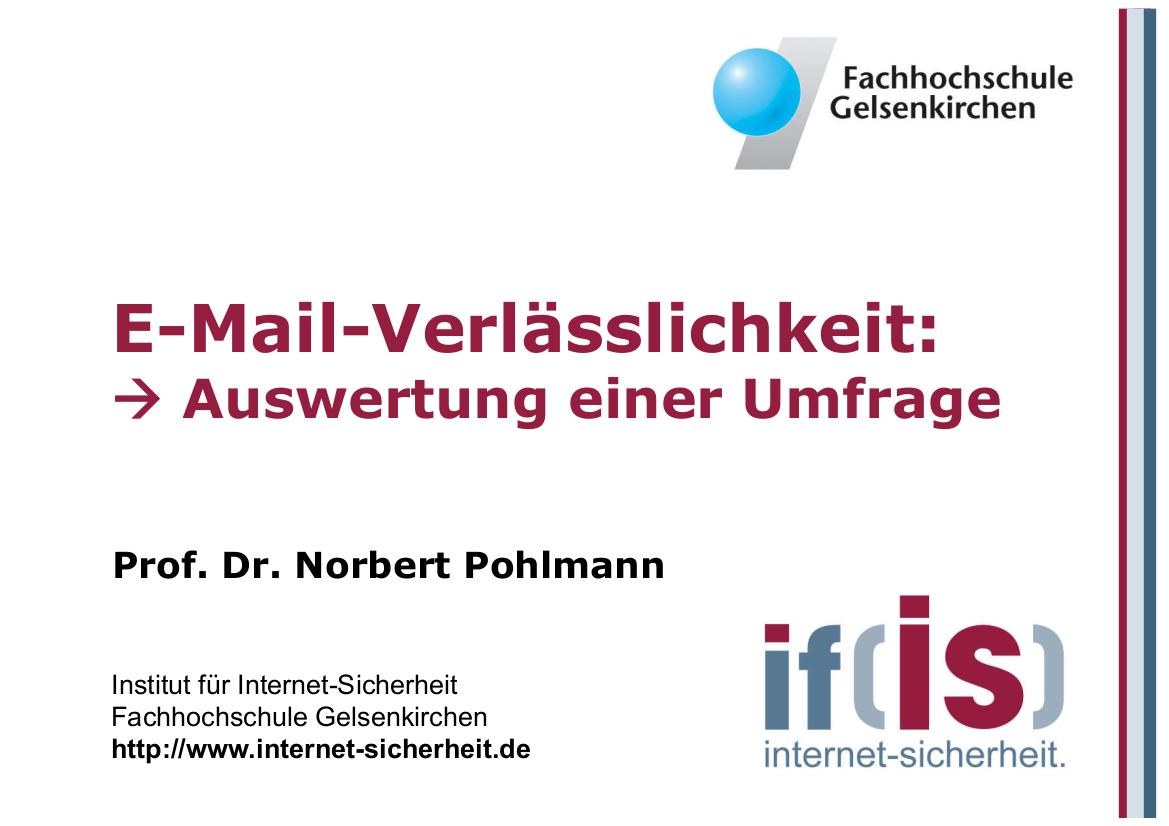 186-E-Mail-Verlässlichkeit-Auswertung-einer-Umfrage-Prof.-Pohlmann