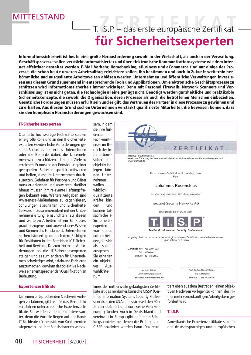 200-T.I.S.P.-–-das-erste-europäische-Zertifikat-für-Sicherheitsexperten