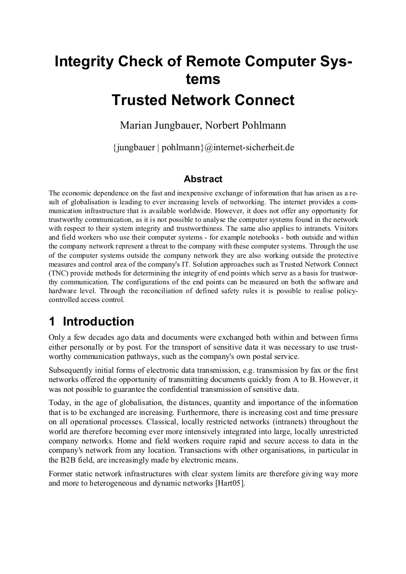206-Integrity-Check-of-Remote-Computer-Systems-Trusted-Network-Connect-Prof-Norbert-Pohlmann