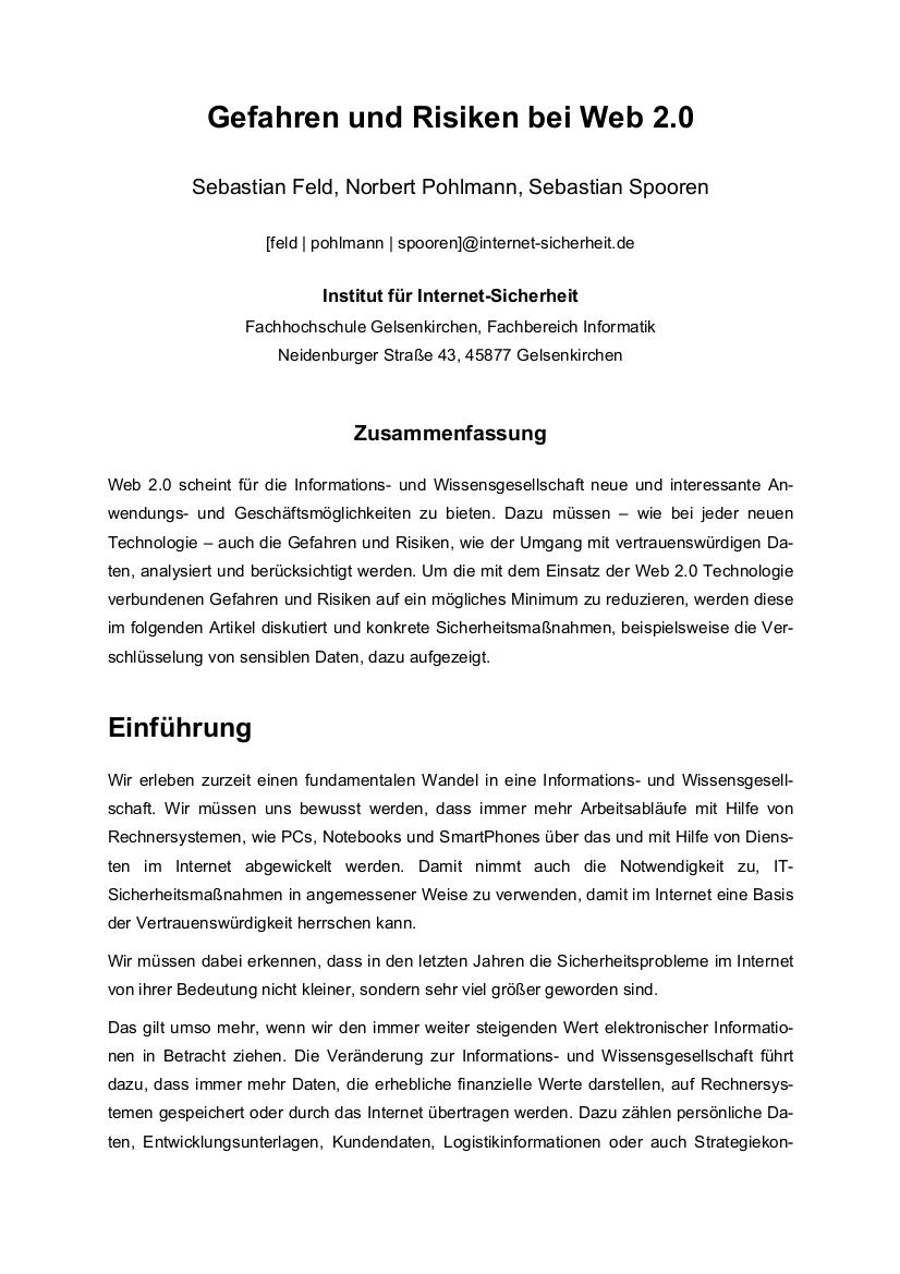 247-Gefahren-und-Risiken-bei-Web-2-0-Prof.-Norbert-Pohlmann