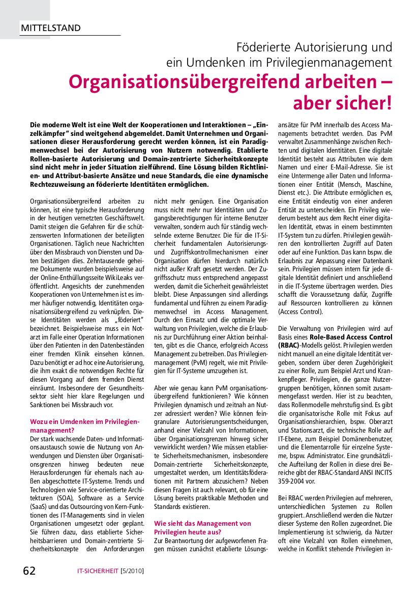 267-Föderierte-Autorisierung-und-ein-Umdenken-im-Privilegienmanagement-–-Organisationsübergreifend-arbeiten-–-aber-sicher-Prof-Norbert-Pohlmann