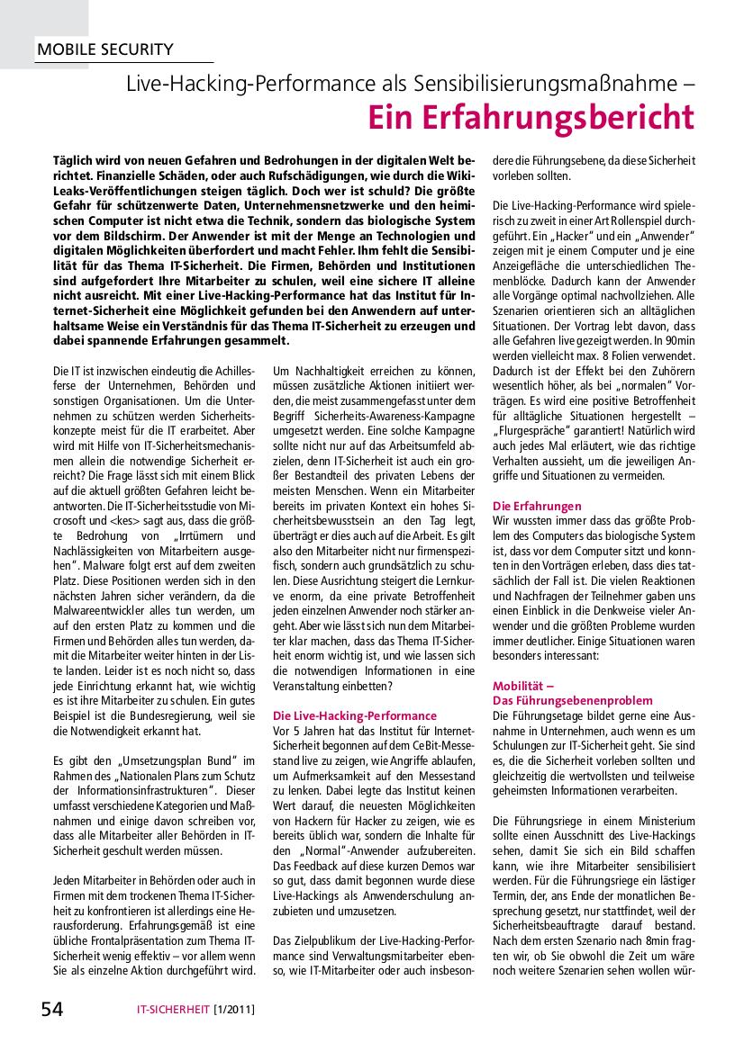 271-Live-Hacking-Performance-als-Sensibilisierungsmaßnahme-Ein-Erfahrungsbericht-Prof-Norbert-Pohlmann