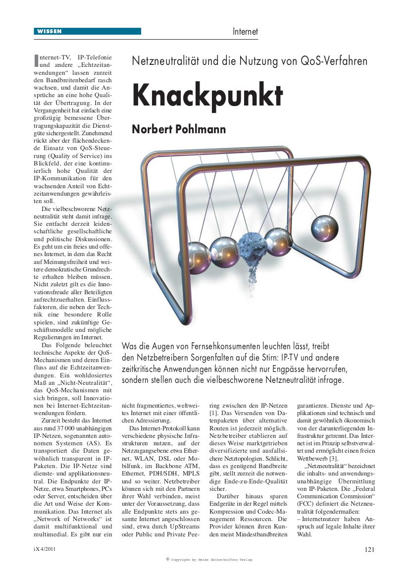 273-Knackpunkt-–-Netzneutralität-und-die-Nutzung-von-QoS-Verfahren-Prinzip-von-Qualitiy-of-Service-Mechanismen-Prof.-Norbert-Pohlmann