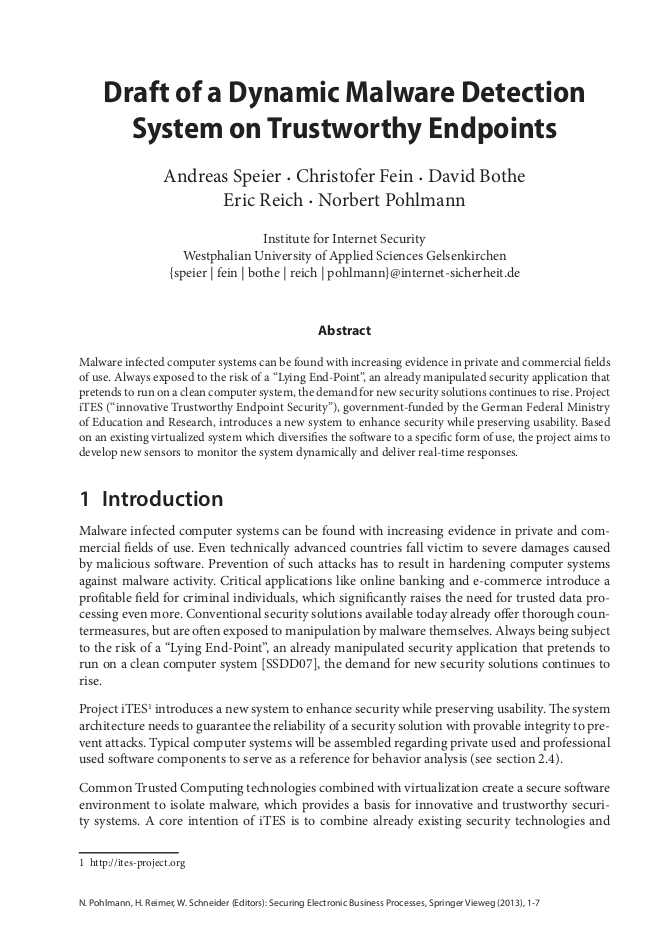 307-Draft-of-a-Dynamic-Malware-Detection-on-Trustworthy-Endpoints-Prof.-Norbert-Pohlmann