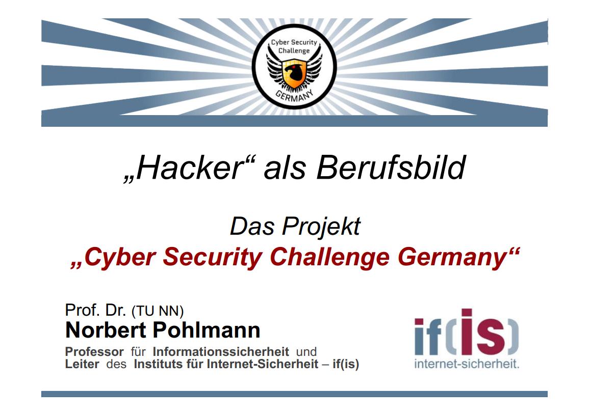 307-Hacker-als-Berufsbild-Cyber-Security-Challenge-Prof.-Norbert-Pohlmann