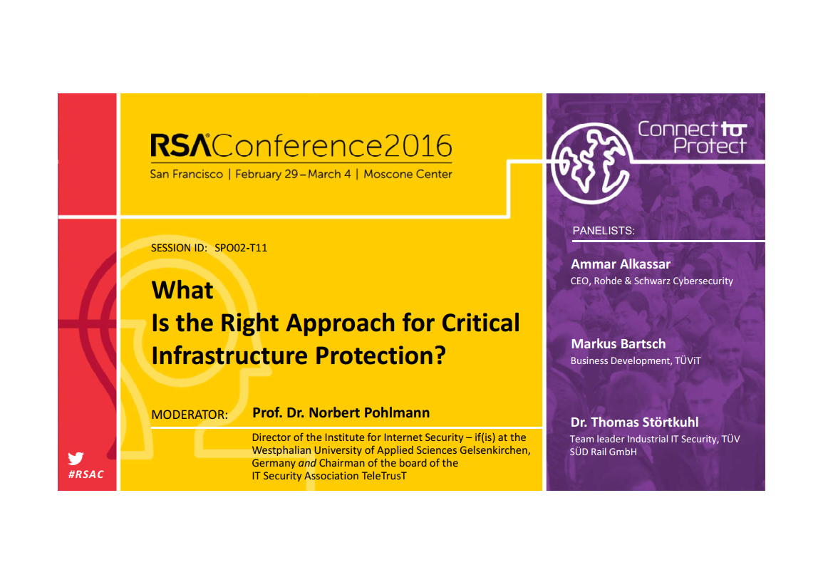 308-What-is-the-Right-Approach-for-Critical-Infrastructure-Protection-Prof.-Norbert-Pohlmann