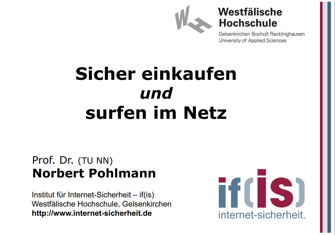 312-Sicher-einkaufen-und-surfen-im-Netz-Prof.-Norbert-Pohlmann
