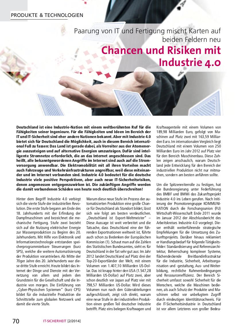 313-Chancen-und-Risiken-mit-Industrie-4.0-Paarung-von-IT-und-Fertigung-mischt-Karten-auf-beiden-Feldern-neu-Prof-Norbert-Pohlmann