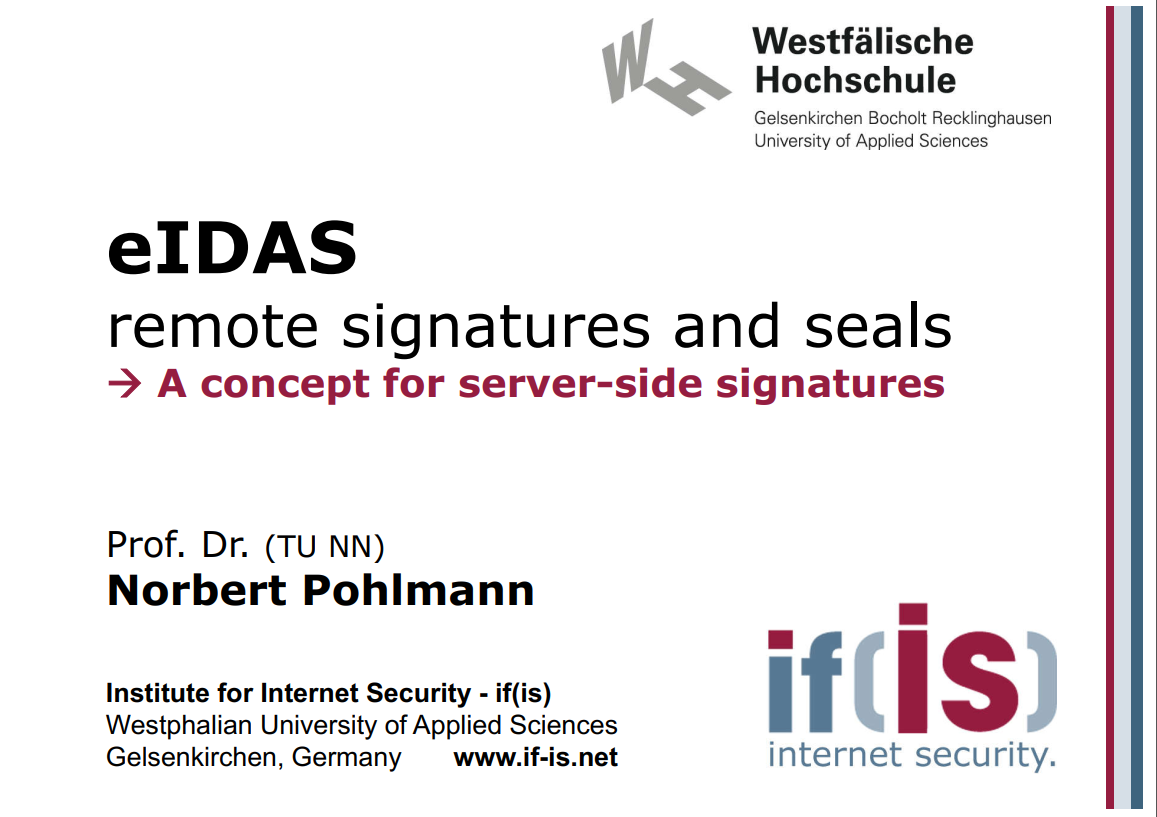 313-eIDAS-Remote-Signatures-and-Seals-A-concept-for-server-side-signatures-Prof.-Norbert-Pohlmann