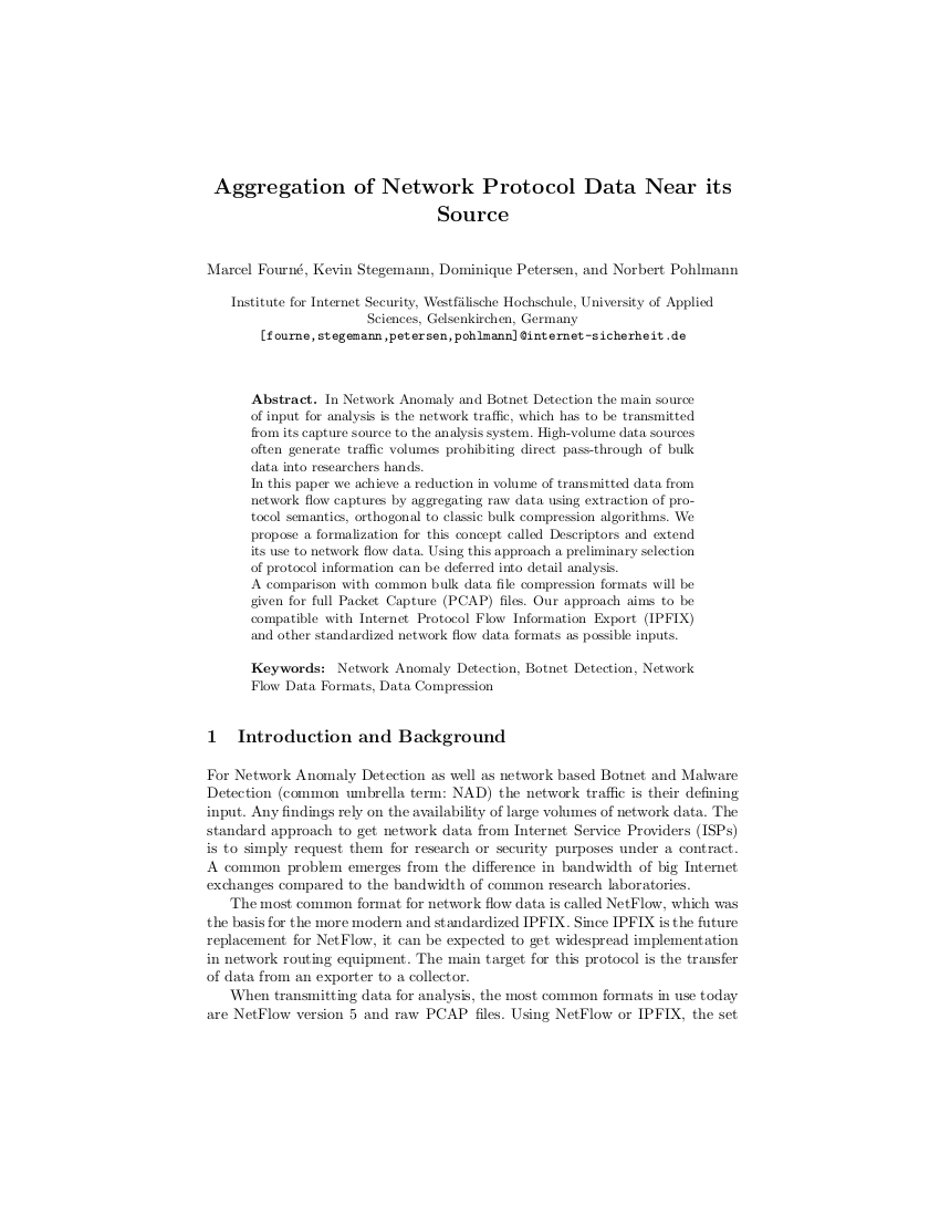 316-Aggregation-of-Network-Protocol-Data-Near-its-Source-Prof-Norbert-Pohlmann