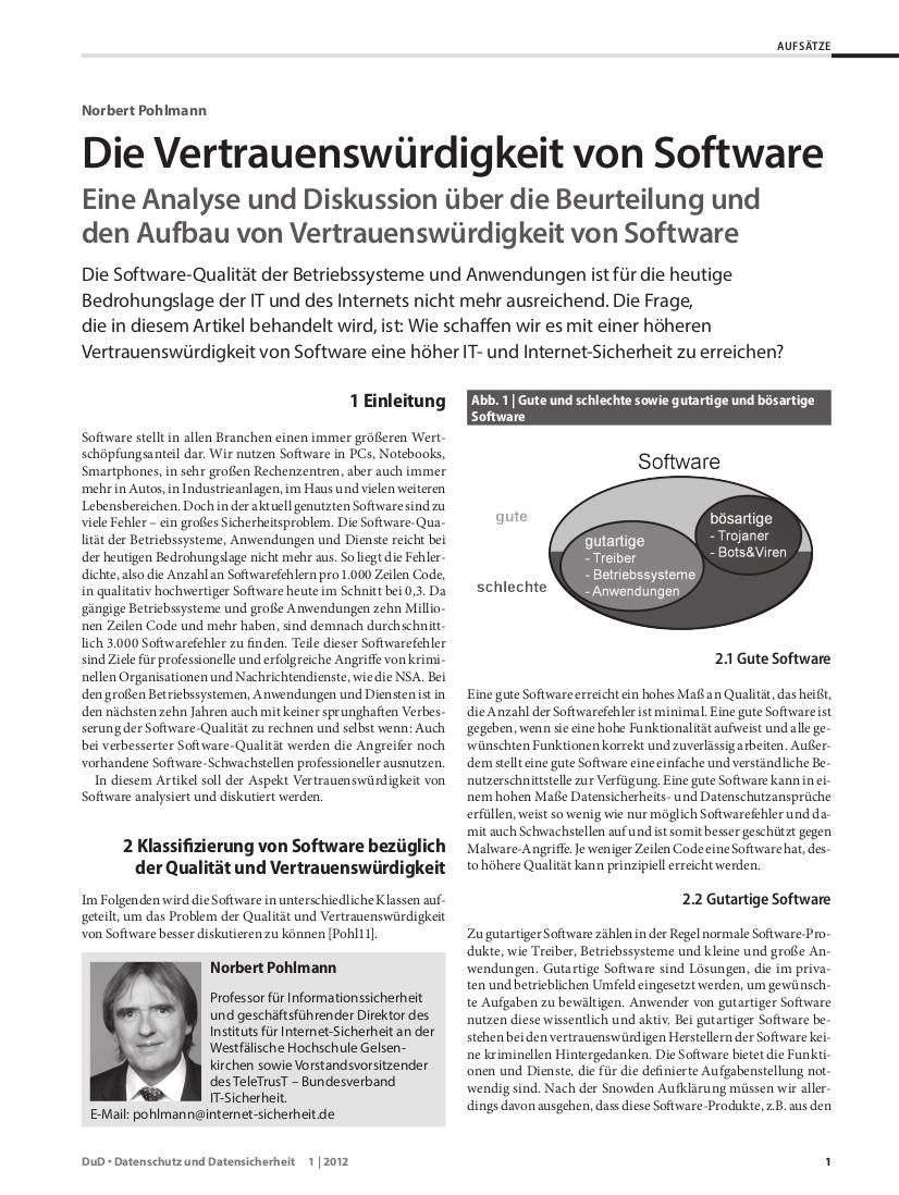 322-Die-Vertrauenswürdigkeit-von-Software-Prof-Norbert-Pohlmann