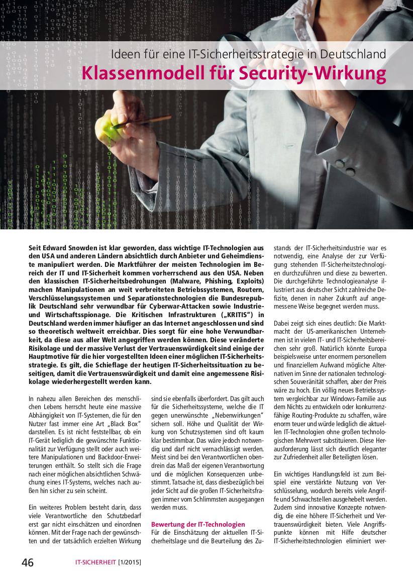 329-Ideen-für-eine-IT-Sicherheitsstrategie-Deutschland-Klassenmodell-für-Security-Wirkung-Prof-Norbert-Pohlmann