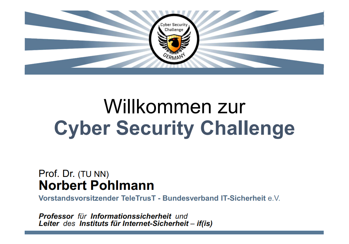 330-Motivation-und-Ablauf-der-Cyber-Security-Challenge-Germany-2016-Prof.-Norbert-Pohlmann