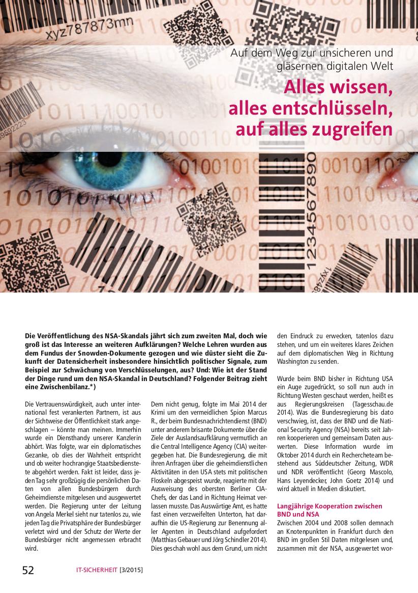 334-Alles-wissen-alles-entschlüsseln-auf-alles-zugreifen-Auf-dem-Weg-zur-unsicheren-und-gläsernen-digitalen-Welt-Prof-Norbert-Pohlmann