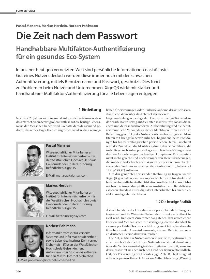345-Die-Zeit-nach-dem-Passwort-Handhabbare-Multifaktor-Authentifizierung-für-ein-gesundes-Eco-System-Prof.-Norbert-Pohlmann