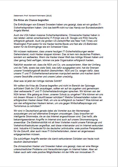 Statement-Krise-als-Chance-Prof.-Norbert-Pohlmann-2013