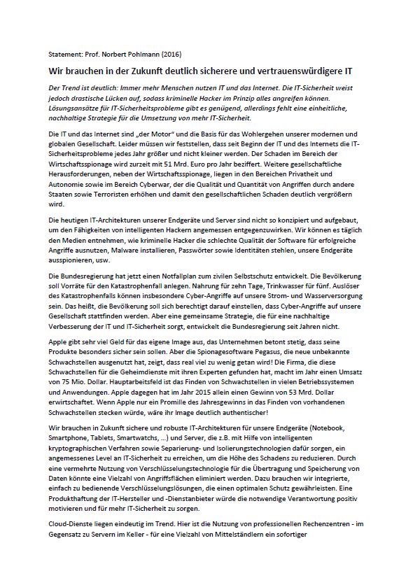 Statement-Wir-brauchen-in-der-Zukunft-deutlich-sicherere-und-vertrauenswürdigere-IT-Prof.-Norbert-Pohlmann-2016