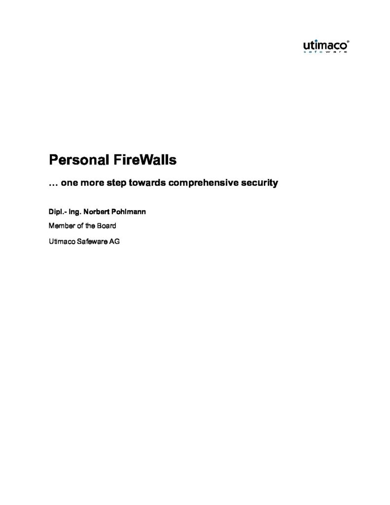 113-Personal-Firewalls-One-More-Step-Towards-Comprehensive-Security-Prof.-Norbert-Pohlmann-pdf